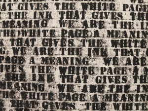 Glenn Ligon; Prisoner of Love #1 (Second Version), 1992